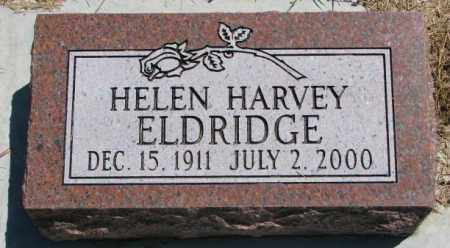 ELDRIDGE, HELEN - Cedar County, Nebraska | HELEN ELDRIDGE - Nebraska Gravestone Photos