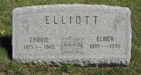 ELLIOTT, ELMER - Cedar County, Nebraska | ELMER ELLIOTT - Nebraska Gravestone Photos
