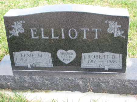 ELLIOTT, ROBERT B. - Cedar County, Nebraska | ROBERT B. ELLIOTT - Nebraska Gravestone Photos