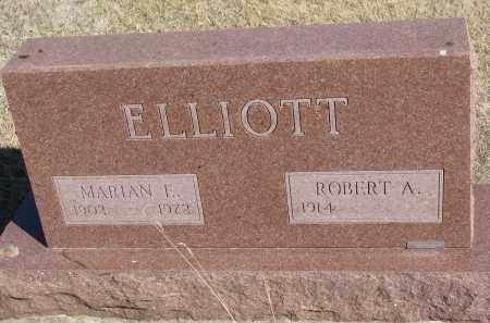 ELLIOTT, MARIAN E. - Cedar County, Nebraska | MARIAN E. ELLIOTT - Nebraska Gravestone Photos