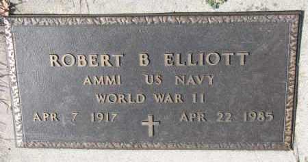 ELLIOTT, ROBERT B. (WW II) - Cedar County, Nebraska | ROBERT B. (WW II) ELLIOTT - Nebraska Gravestone Photos