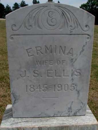 ELLIS, ERMINA - Cedar County, Nebraska   ERMINA ELLIS - Nebraska Gravestone Photos