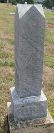 ELLISON, ALVIN A. - Cedar County, Nebraska | ALVIN A. ELLISON - Nebraska Gravestone Photos