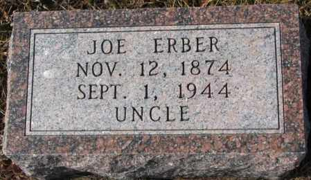 ERBER, JOE - Cedar County, Nebraska | JOE ERBER - Nebraska Gravestone Photos
