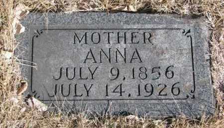 ERICKSON, ANNA - Cedar County, Nebraska | ANNA ERICKSON - Nebraska Gravestone Photos