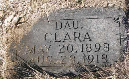 ERICKSON, CLARA - Cedar County, Nebraska | CLARA ERICKSON - Nebraska Gravestone Photos