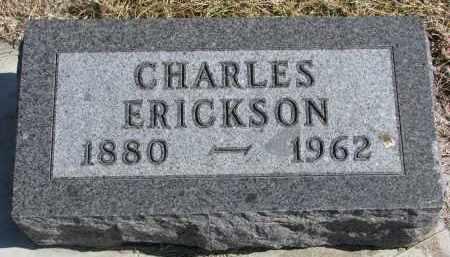 ERICKSON, CHARLES - Cedar County, Nebraska | CHARLES ERICKSON - Nebraska Gravestone Photos