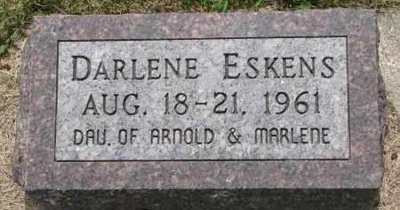 ESKENS, DARLENE - Cedar County, Nebraska   DARLENE ESKENS - Nebraska Gravestone Photos