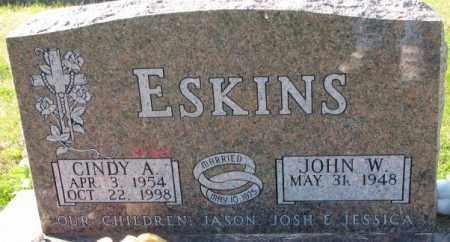 ESKINS, CINDY A. - Cedar County, Nebraska | CINDY A. ESKINS - Nebraska Gravestone Photos