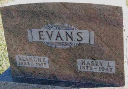 EVANS, BLANCHE - Cedar County, Nebraska | BLANCHE EVANS - Nebraska Gravestone Photos