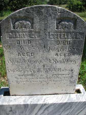 EVANS, ESTELLA R? - Cedar County, Nebraska | ESTELLA R? EVANS - Nebraska Gravestone Photos