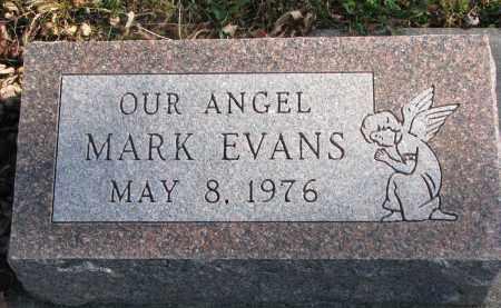 EVANS, MARK - Cedar County, Nebraska | MARK EVANS - Nebraska Gravestone Photos