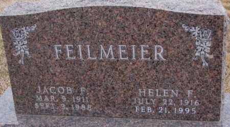 FEILMEIER, HELEN F. - Cedar County, Nebraska | HELEN F. FEILMEIER - Nebraska Gravestone Photos