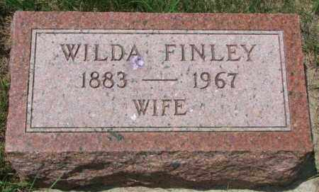 FINLEY, WILDA - Cedar County, Nebraska | WILDA FINLEY - Nebraska Gravestone Photos