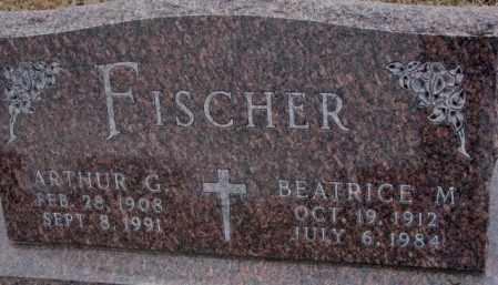 FISCHER, BEATRICE M. - Cedar County, Nebraska | BEATRICE M. FISCHER - Nebraska Gravestone Photos