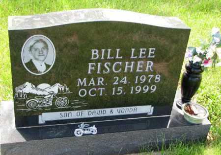 FISCHER, BILL LEE - Cedar County, Nebraska | BILL LEE FISCHER - Nebraska Gravestone Photos