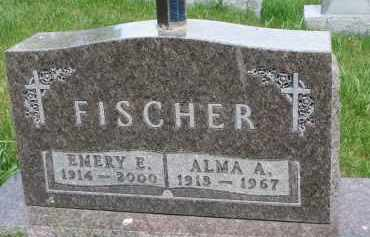 FISCHER, EMERY E. - Cedar County, Nebraska | EMERY E. FISCHER - Nebraska Gravestone Photos
