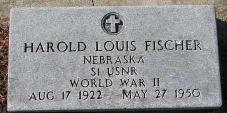 FISCHER, HAROLD LOUIS (WW II) - Cedar County, Nebraska   HAROLD LOUIS (WW II) FISCHER - Nebraska Gravestone Photos