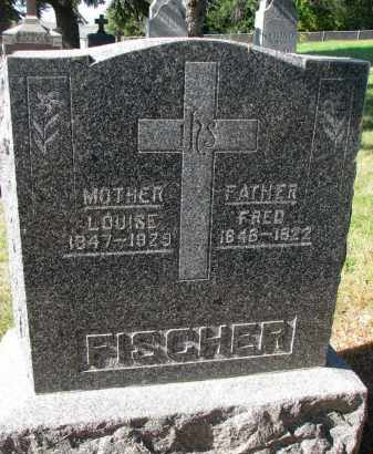 FISCHER, LOUISE - Cedar County, Nebraska | LOUISE FISCHER - Nebraska Gravestone Photos