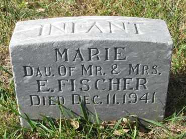 FISCHER, MARIE - Cedar County, Nebraska | MARIE FISCHER - Nebraska Gravestone Photos