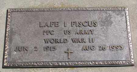 FISCUS, LAFE I. - Cedar County, Nebraska | LAFE I. FISCUS - Nebraska Gravestone Photos