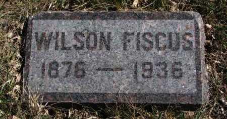 FISCUS, WILSON - Cedar County, Nebraska | WILSON FISCUS - Nebraska Gravestone Photos