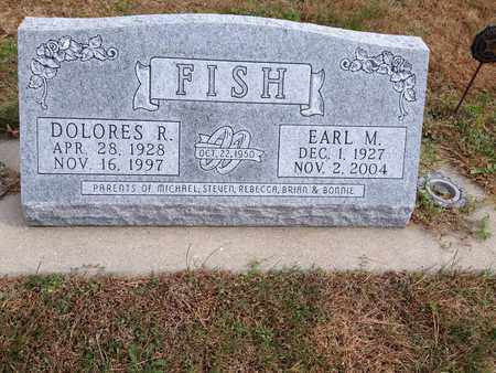 FISH, EARL M - Cedar County, Nebraska | EARL M FISH - Nebraska Gravestone Photos