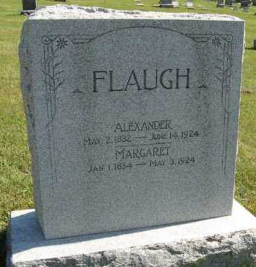FLAUGH, MARGARET - Cedar County, Nebraska | MARGARET FLAUGH - Nebraska Gravestone Photos