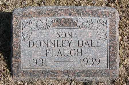 FLAUGH, DONNLEY DALE - Cedar County, Nebraska | DONNLEY DALE FLAUGH - Nebraska Gravestone Photos