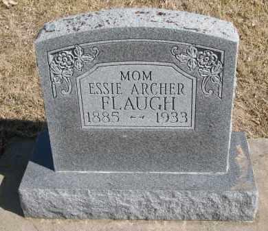 ARCHER FLAUGH, ESSIE - Cedar County, Nebraska   ESSIE ARCHER FLAUGH - Nebraska Gravestone Photos