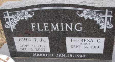 KRUSE FLEMING, THERESA C. - Cedar County, Nebraska | THERESA C. KRUSE FLEMING - Nebraska Gravestone Photos