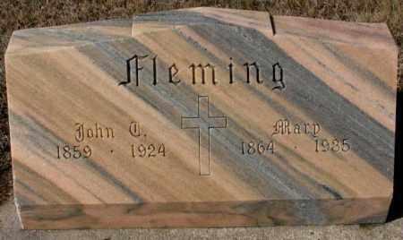 FLEMING, MARY - Cedar County, Nebraska | MARY FLEMING - Nebraska Gravestone Photos
