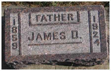 FLEMING, JAMES D. - Cedar County, Nebraska | JAMES D. FLEMING - Nebraska Gravestone Photos
