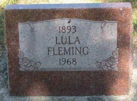 FLEMING, LULA - Cedar County, Nebraska | LULA FLEMING - Nebraska Gravestone Photos
