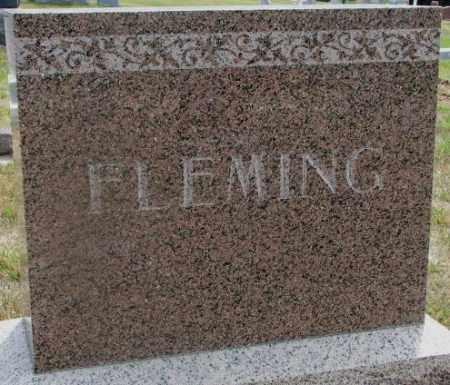 FLEMING, PLOT - Cedar County, Nebraska   PLOT FLEMING - Nebraska Gravestone Photos