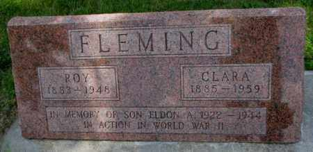 FLEMING, ELDON A. - Cedar County, Nebraska | ELDON A. FLEMING - Nebraska Gravestone Photos