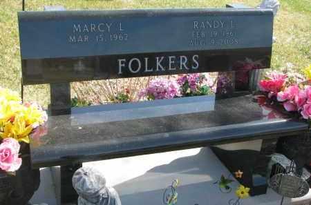 FOLKERS, RANDY L. - Cedar County, Nebraska | RANDY L. FOLKERS - Nebraska Gravestone Photos