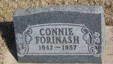 FORINASH, CONNIE - Cedar County, Nebraska | CONNIE FORINASH - Nebraska Gravestone Photos