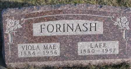 FORINASH, VIOLA MAE - Cedar County, Nebraska | VIOLA MAE FORINASH - Nebraska Gravestone Photos
