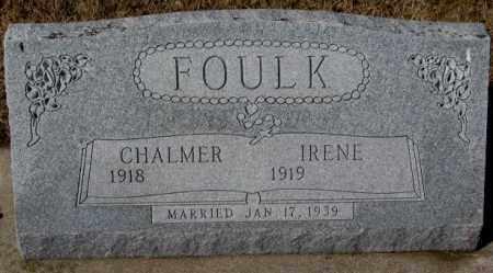 FOULK, IRENE - Cedar County, Nebraska | IRENE FOULK - Nebraska Gravestone Photos