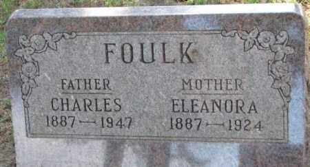 FOULK, ELEANORA - Cedar County, Nebraska | ELEANORA FOULK - Nebraska Gravestone Photos