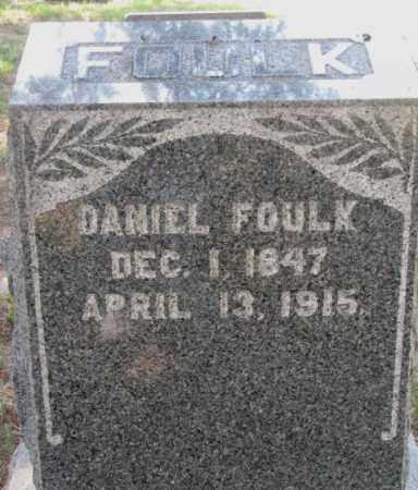 FOULK, DANIEL - Cedar County, Nebraska | DANIEL FOULK - Nebraska Gravestone Photos