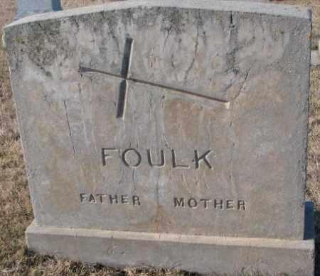 FOULK, MOTHER - Cedar County, Nebraska   MOTHER FOULK - Nebraska Gravestone Photos