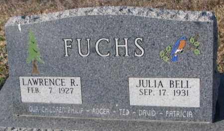 FUCHS, JULIA BELL - Cedar County, Nebraska | JULIA BELL FUCHS - Nebraska Gravestone Photos