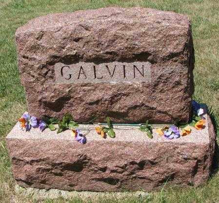 GALVIN, PLOT - Cedar County, Nebraska | PLOT GALVIN - Nebraska Gravestone Photos