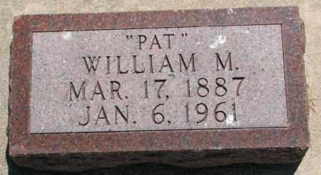 GALVIN, WILLIAM M. - Cedar County, Nebraska | WILLIAM M. GALVIN - Nebraska Gravestone Photos