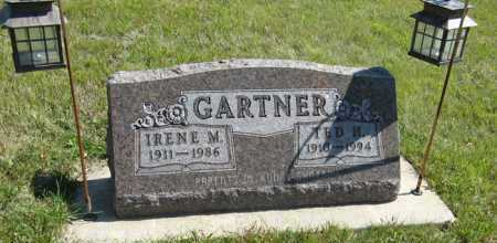 GARTNER, IRENE M. - Cedar County, Nebraska | IRENE M. GARTNER - Nebraska Gravestone Photos