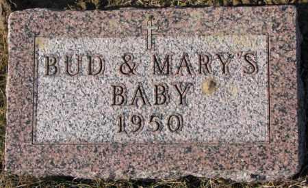 GENGLER ?, BABY - Cedar County, Nebraska | BABY GENGLER ? - Nebraska Gravestone Photos