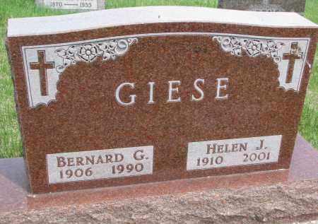 GIESE, HELEN J. - Cedar County, Nebraska | HELEN J. GIESE - Nebraska Gravestone Photos
