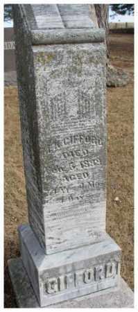 GIFFORD, M.K. - Cedar County, Nebraska   M.K. GIFFORD - Nebraska Gravestone Photos